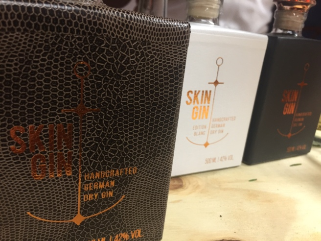 Great packaging on Skin Gin, but not my thing.