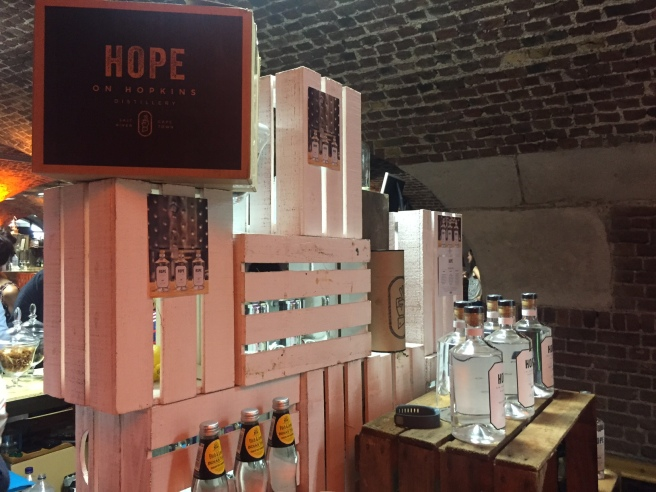 Hope on Hopkins - lovely people passionate about their gin, and rightly so