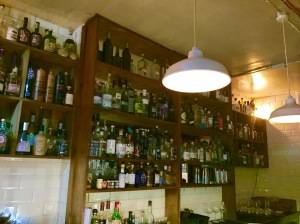 London Gin Club Shelves